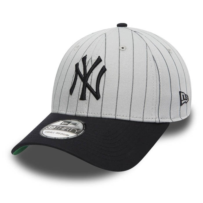 New Era Pinstripe Stretch Neyyan Official Team Colour/Kelly Green