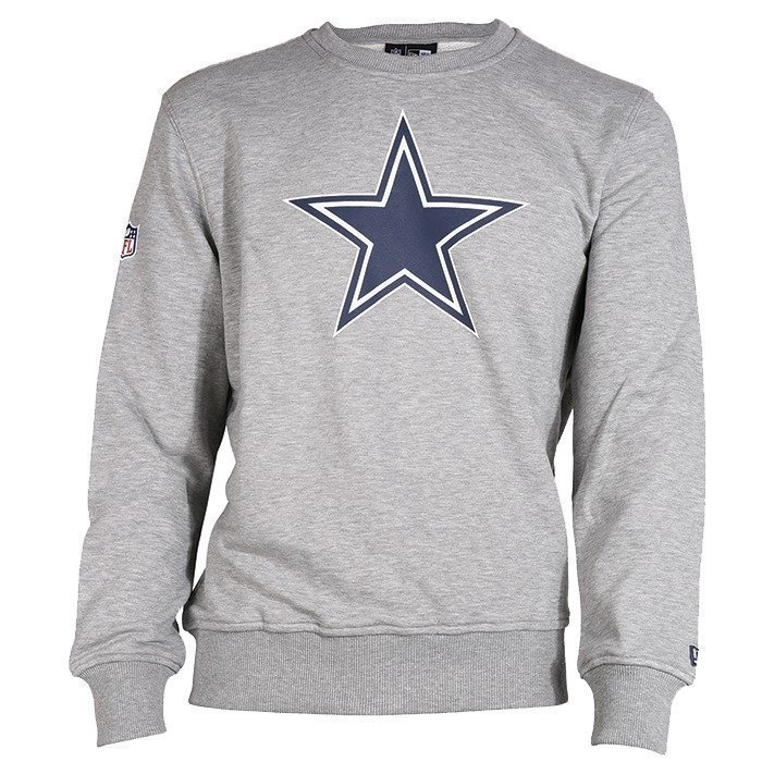 New Era Team Logo Crew Dallas Cowboys heather grey XXL