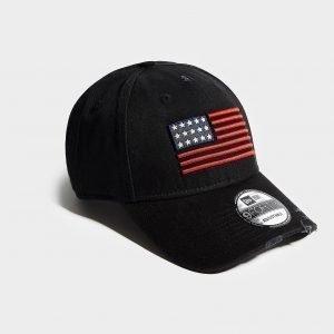 New Era Us Flag 9forty Cap Musta
