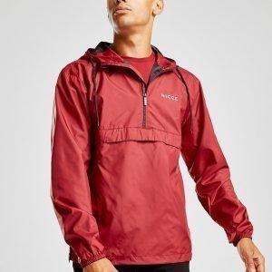 Nicce 1/4 Zip Jacket Punainen