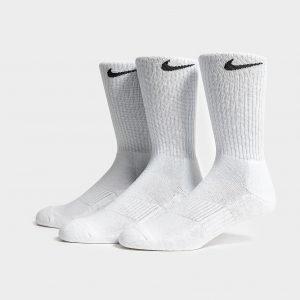 Nike 3 Pack Basic Cuff Socks Valkoinen