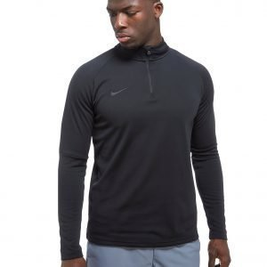 Nike Academy 17 Long Sleeve Top Musta