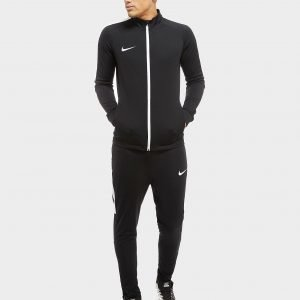 Nike Academy Poly Tracksuit Musta