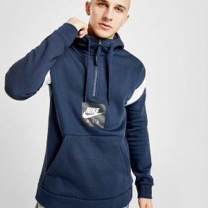 Nike Air 1/2 Zip Fleece Hoodie Sininen