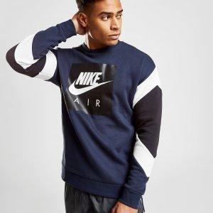 Nike Air Fleece Collegepaita Laivastonsininen