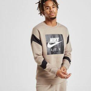 Nike Air Fleece Crew Sweatshirt Beige