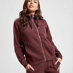 Nike Air Full Zip Hoodie Burgundy / Rose Gold