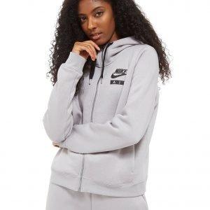 Nike Air Full Zip Hoodie Harmaa
