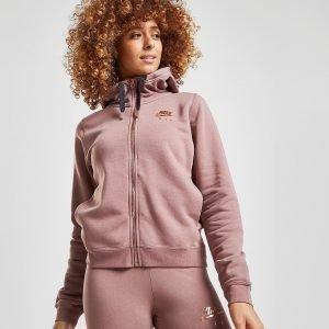 Nike Air Full Zip Hoodie Ruskea