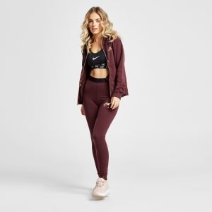 Nike Air Leggings Burgundy / Rose Gold