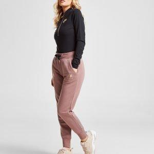 Nike Air Long Sleeve 1/2 Zip Bodysuit Musta