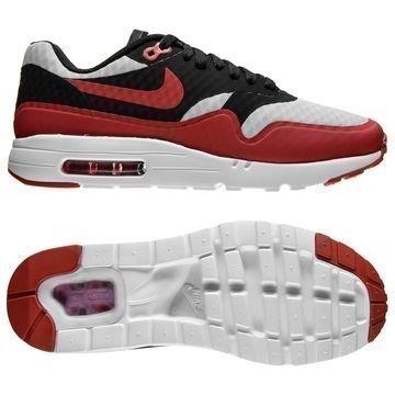 Nike Air Max 1 Ultra Essential Harmaa/Punainen