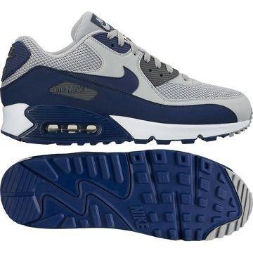 Nike Air Max 90 Essential Harmaa/Navy/Valkoinen
