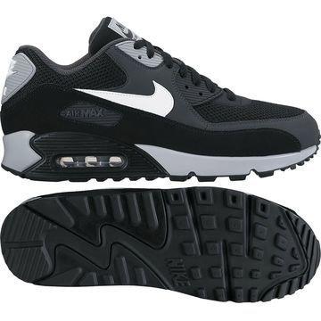 Nike Air Max 90 Essential Musta/Valkoinen/Harmaa