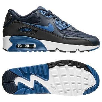 Nike Air Max 90 Mesh Harmaa/Sininen/Musta Lapset