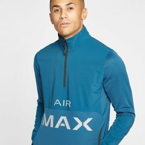 Nike Air Max Poly 1/2 Zip Sweatshirt Sininen