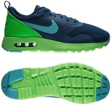 Nike Air Max Tavas Navy/Vihreä Lapset