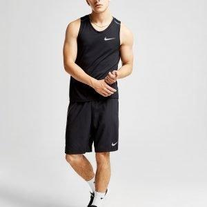 Nike Breathe Rise Training Tank Top Musta
