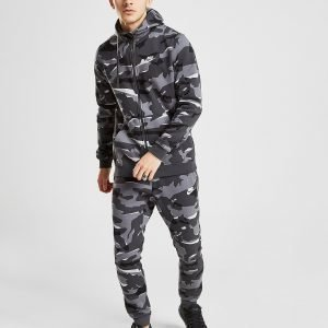 Nike Camo Futura Fleece Track Pants Harmaa