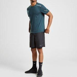 Nike Challenger 2 In 1 Shortsit Musta