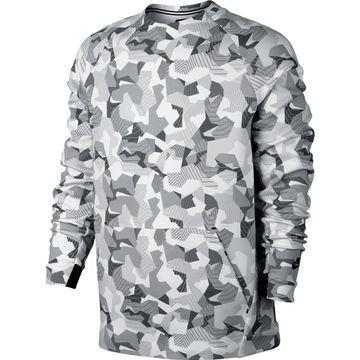 Nike Collegepaita Authentic Tech Fleece Crew Valkoinen/Musta