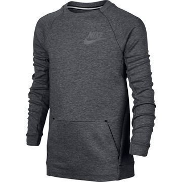 Nike Collegepaita Tech Fleece Crew Harmaa Lapset