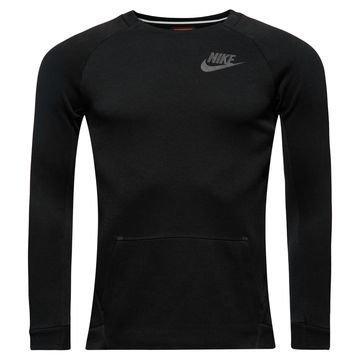 Nike Collegepaita Tech Fleece Crew Musta Lapset