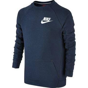 Nike Collegepaita Tech Fleece Crew Navy Lapset