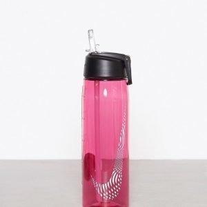 online store b0376 8c574 Nike Core Flow Gr Water Bottle Vesipullo Vaaleanpunainen   Valkoinen