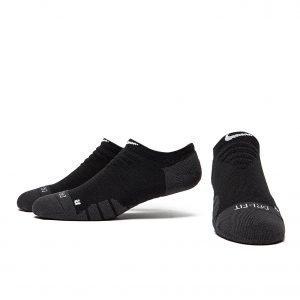 Nike Dri-Fit Quarter Socks Musta
