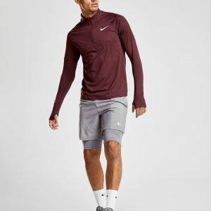 Nike Dry Element 1/2 Zip Running Top Burgundy
