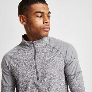 Nike Dry Element 1/2 Zip Running Top Harmaa