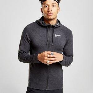 Nike Dry Lightweight Full Zip Hoodie Musta