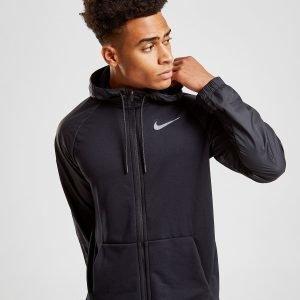 Nike Dry Overlay Full Zip Hoodie Musta