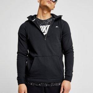 Nike Essential 1/2 Zip Hoodie Musta