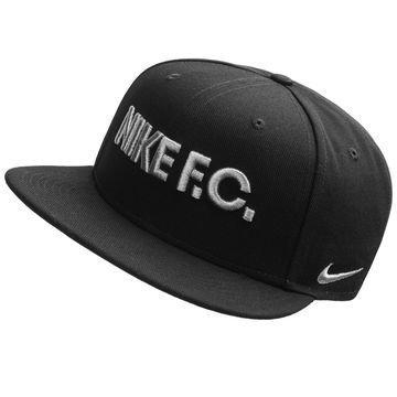 Nike F.C. Snapback True Musta/Hopea