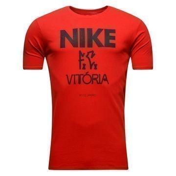 Nike F.C. T-Paita Vitoria Punainen