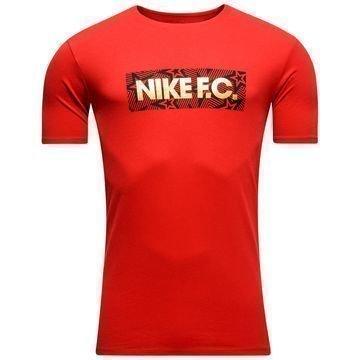 Nike F.C. T-paita Stars Block Punainen