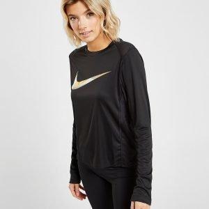 Nike Flash Long Sleeve Paita Musta