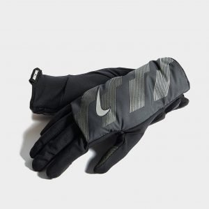 Nike Flash Quilted Gloves Musta