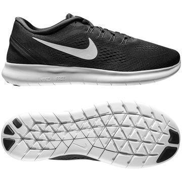 Nike Free Juoksukenkä Free RN Musta/Valkoinen Naiset