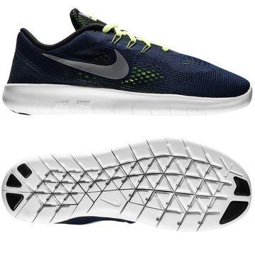 Nike Free RN Navy/Hopea/Neon Lapset