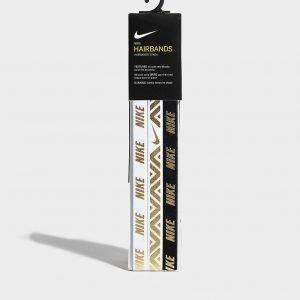 Nike Hairbands 3 Pack Valkoinen