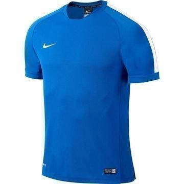 Nike Harjoittelu T-Paita Squad Flash Sininen/Valkoinen Lapset