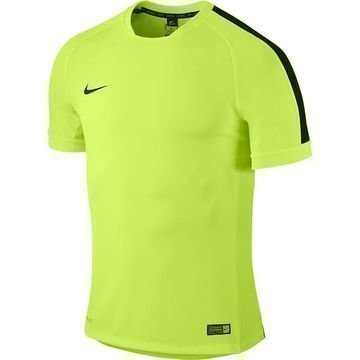 Nike Harjoittelu T-Paita Squad Flash Volt/Musta Lapset