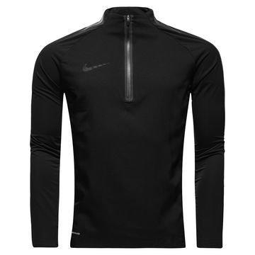 Nike Harjoituspaita Aerolayer Repel Strike Drill Musta/Valkoinen