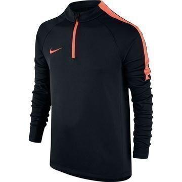 Nike Harjoituspaita Midlayer Drill Musta/Oranssi Lapset