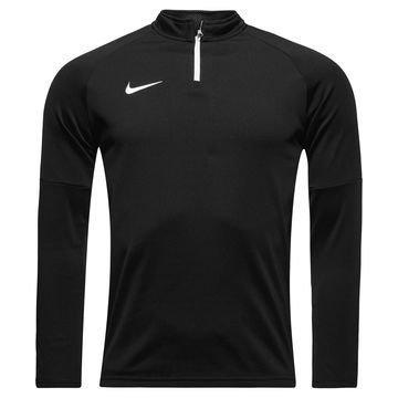 Nike Harjoituspaita Midlayer Drill Top Academy Musta/Valkoinen Lapset
