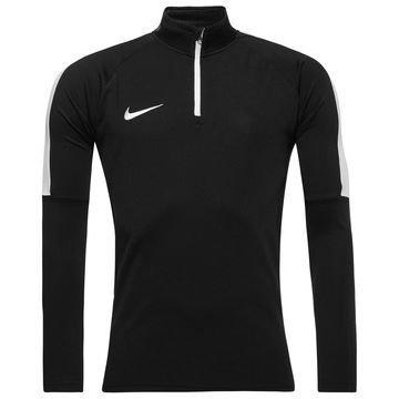 Nike Harjoituspaita Midlayer Drill Top Academy Musta/Valkoinen
