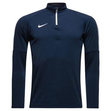 Nike Harjoituspaita Midlayer Drill Top Academy Navy/Valkoinen Lapset